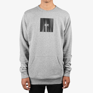 DOPE Square Logo Crewneck GREY