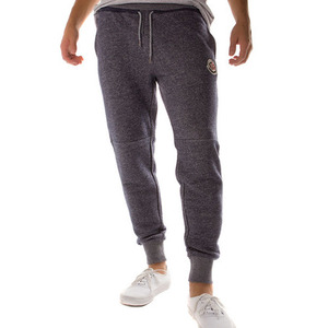 CROOKS & CASTLES Knit Sweatpants - Percee (Speckle Navy)