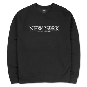 OBEY TIME ZONENEW YORK CREW BLACK