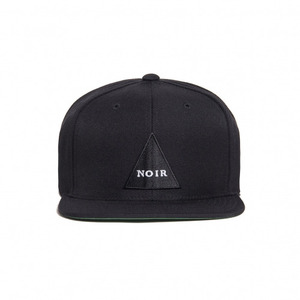 BLACK SCALE Noir Snapback (Black)