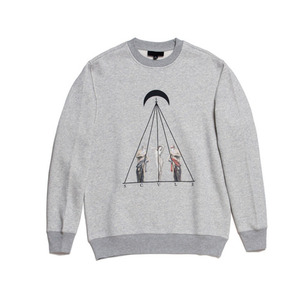 BLACK SCALE TIMELESS II CREWNECK (HEATHER GREY)