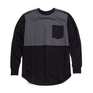 BLACK SCALE ALUMS L/S T-SHIRT (BLACK)