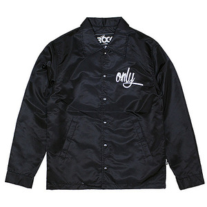 ROCK PSYCHO ONLY COACH JACKET (BLACK)