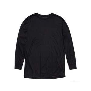 BLACK SCALE MACHADO L/S T-SHIRT BLACK