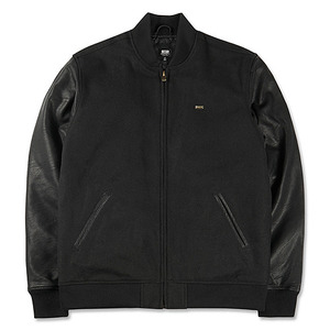 OBEY SOTO BADGE JACKET (BLACK/BLACK)