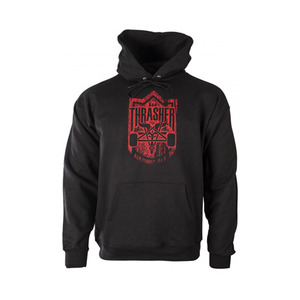 THRASHER x HABITAT DARK FOREST GOAT HOOD (BLACK)