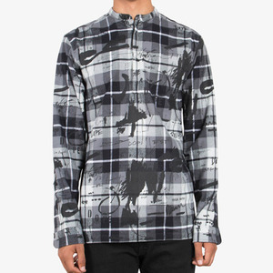 Dope Ink Study Flannel Tunic (Black)
