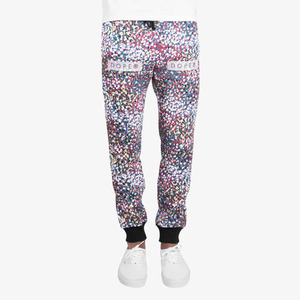 Dope Seurat Sweatpants (Burgandy)