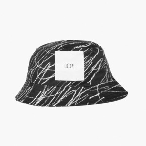 Dope Concentric Square Logo Bucket (Black)