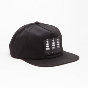 OBEY CYBER HAT BLACK