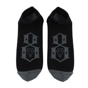 REBEL 8 LOGO ANKLE BLK