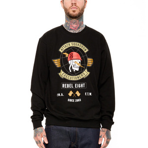 REBEL 8 ATTACK SQUADRON EXECUTIONERS CREWNECK