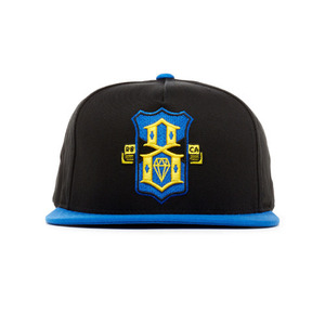 REBEL 8 R8FC BLACK SNAPBACK