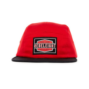 REBEL 8 WORK BADGE RED CAMPER