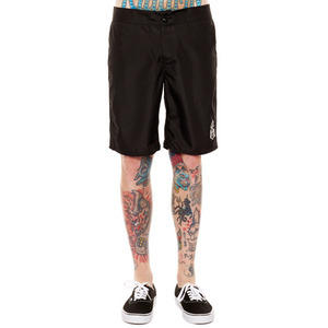 REBEL 8 BOARD SHORTS BLACK
