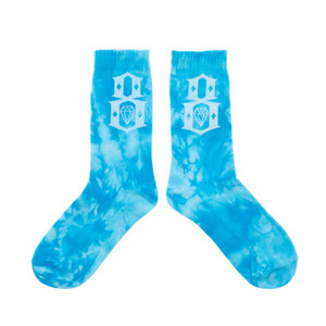 REBEL 8 TIE-DYE LOGO BLUE