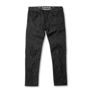 CROOKS & CASTLES Denim Pants - All-Night Premium (Raw Black)