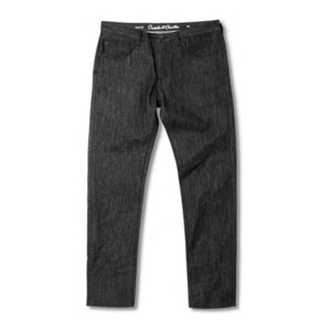 CROOKS & CASTLES Denim Pants - All-Day Core (Raw Black)