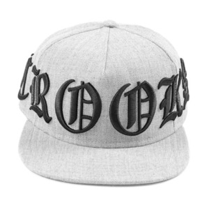 CROOKS & CASTLES Woven Cap - Bold (Speckle Grey)