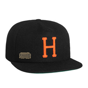 HUF HOME FIELD WOOL STRAPBACK