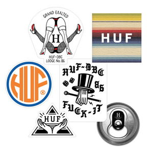 HUF 15HO STICKER PACKS