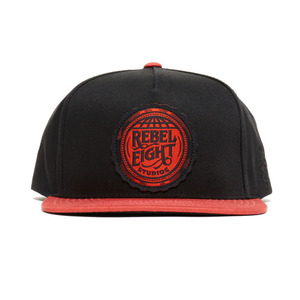 REBEL 8 REBEL EIGHT STUDIOS Snapback (BLACK)