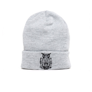 REBEL 8 NIGHT WATCH Cuffed Beanie (GREY)