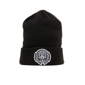 REBEL 8 UNTIL DEATH Cuffed Beanie (BLACK