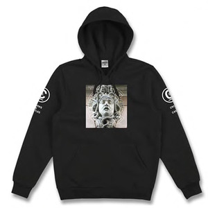 CROOKS & CASTLES Knit Hooded Pullover - Titan (Black)