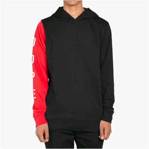 DOPE Knockout Paneled Pullover (Black)
