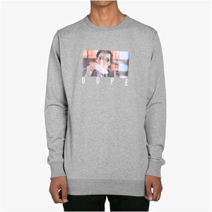 DOPE Better Tomorrow Crewneck (Grey)
