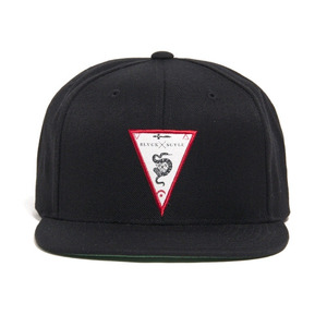 BLACK SCALE Etymology Snapback (Black)