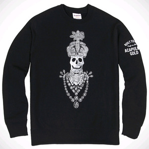 Acapulco Gold BLOOD DIAMOND CREWNECK (BLACK)