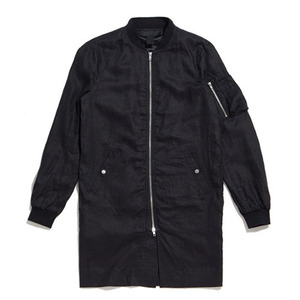 50%saleBLACK SCALE MA-1 EXTENDED JACKET (Black)
