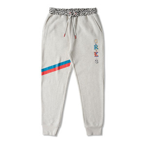 CROOKS & CASTLES Men's Knit Sweatpant - Maison (Heather Oatmeal)