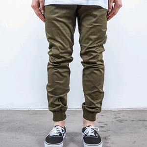 RUSTIC DIME JOGGER FIT STRETCH TWILL (OLIVE)