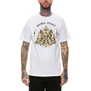 REBEL 8 FATE FOR NONE TEE (WHTE)