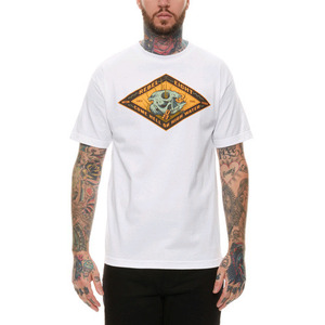 REBEL 8 HIGH WATERS TEE (WHITE)