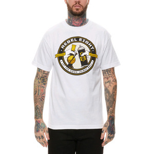 REBEL 8 GOOD CRIMES TEE (WHITE)
