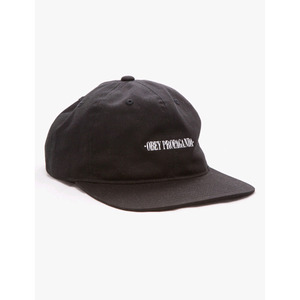 OBEY WESTWOOD HAT BLACK