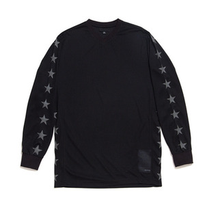 BLACK SCALE NATIONAL BMX JERSEY (BLACK)