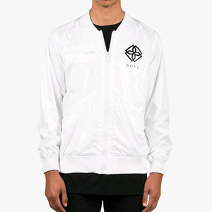 DOPE Monogram Windbreaker (White)