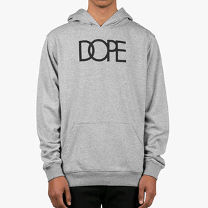 DOPE Logo Pullover (Grey)