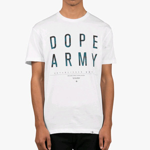 DOPE Dope Army Tee (White)