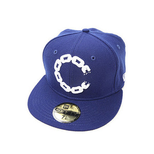 CROOKS & CASTLES Mens Woven Fitted Cap - Chain C Dots [2]