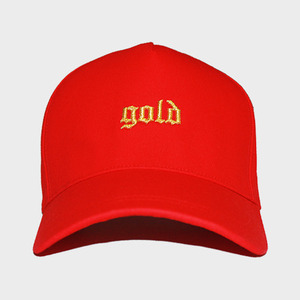 OBH GOLD SNAPBACK RED