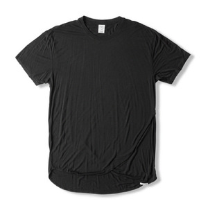 CROOKS & CASTLES Men's Knit Layered Crew T-Shirt - Status (Black)
