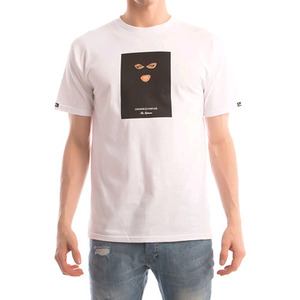CROOKS & CASTLES Men's Knit Crew T-Shirt - Crookstape (White)