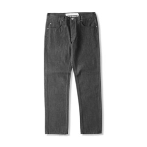 CROOKS & CASTLES Men's Woven Denim Pants - Outlaw Core (Raw Black)