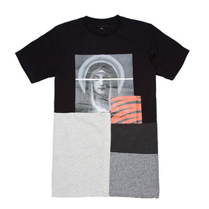 BLACK SCALE Withering T-Shirt (Black)